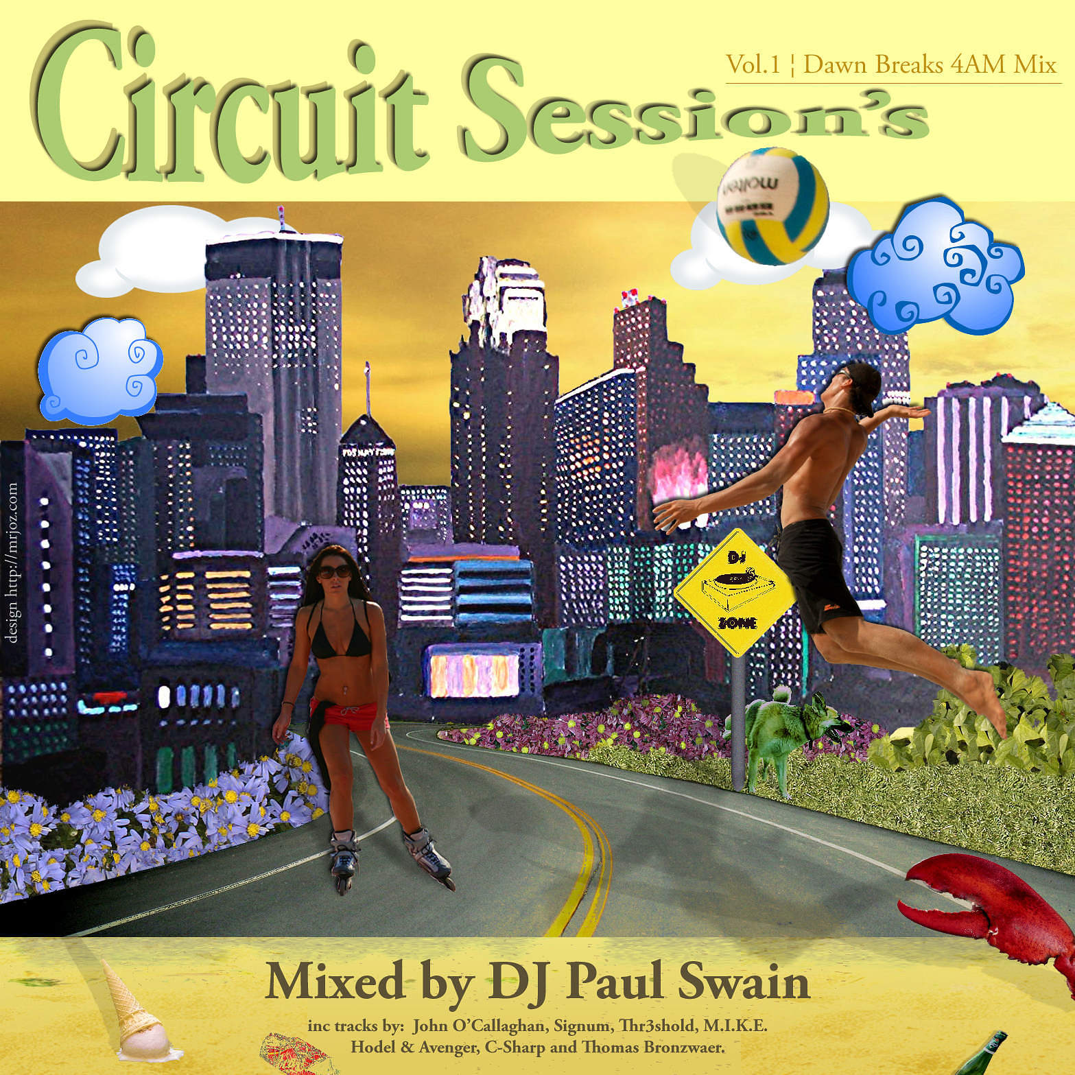 Citylife Weekend Illustration - CD Cover
