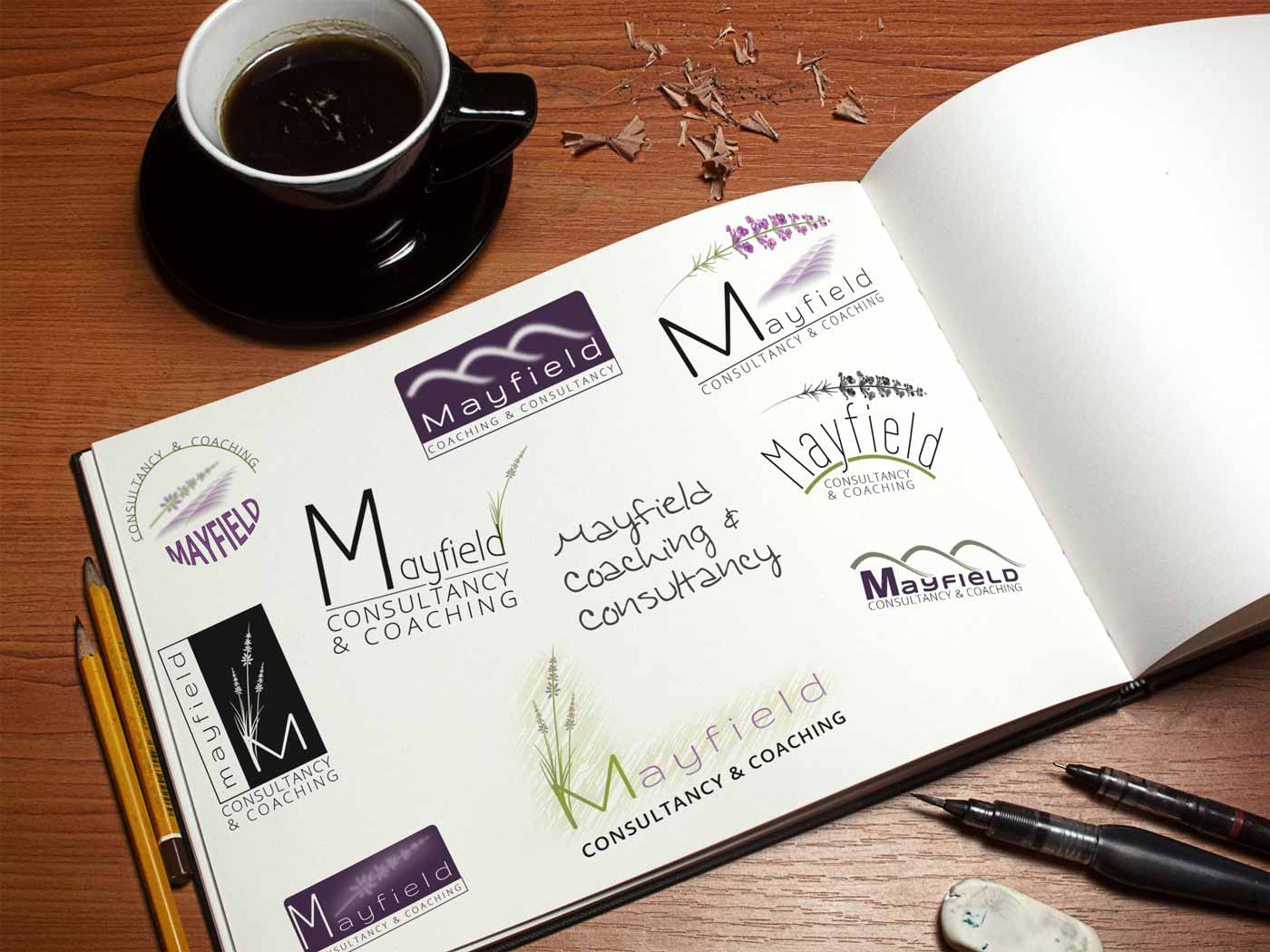 Mayfield Coaching and Consultancy logo design