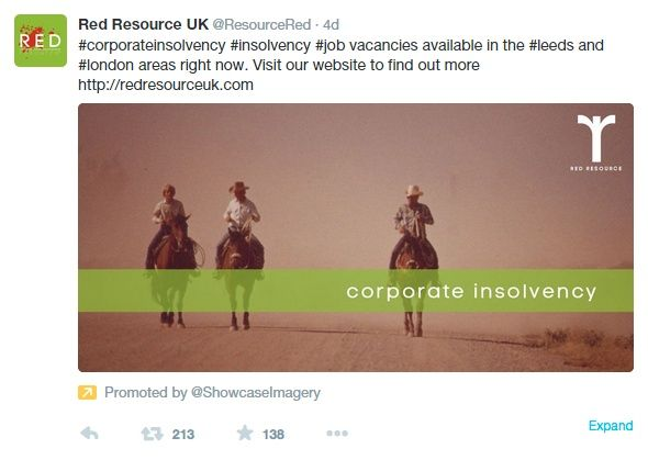 branded tweet image for red resource uk