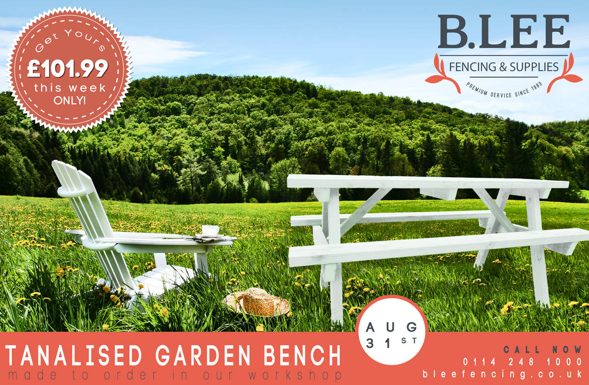 product placement of a picnic bench in-situ